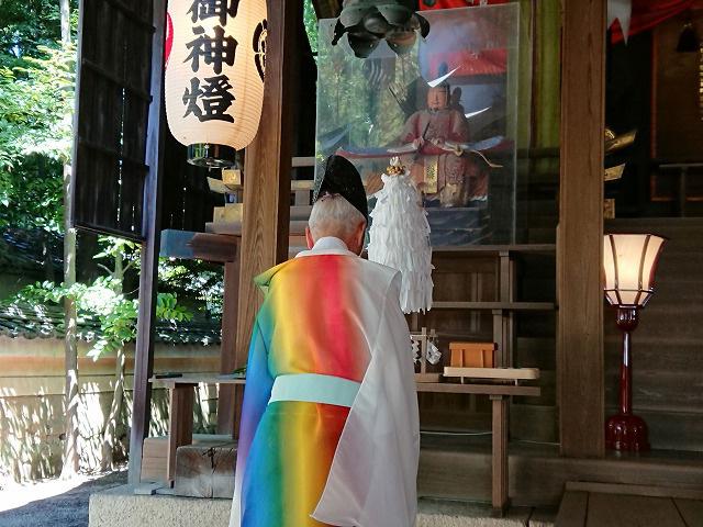 馬路石邊神社七夕短冊奉納③【0805】